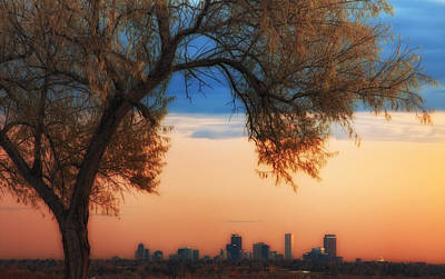 Denver Skyline Photograph - Good Morning Denver by Darren  White