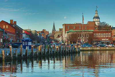 Chesapeake Bay Photograph - Good Morning Downtown by Jennifer Casey