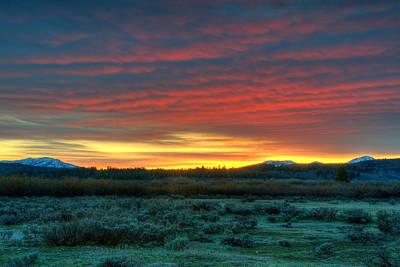 Photograph - Good Morning Jackson Hole by Steve Stuller