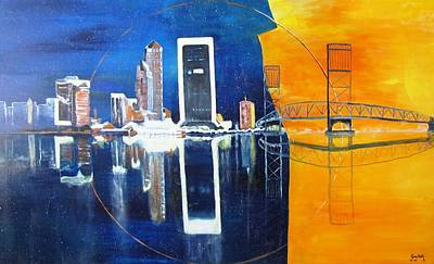 Painting - Good Morning Jacksonville by Gary Smith