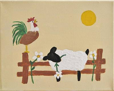 Good Morning Art Print by Linda Brown