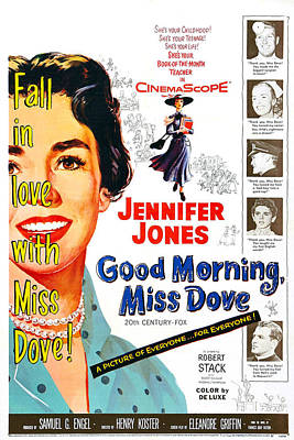 1955 Movies Photograph - Good Morning, Miss Dove, Us Poster by Everett