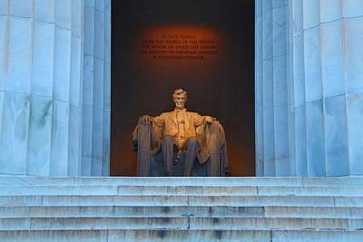Good Morning Mr. Lincoln Art Print