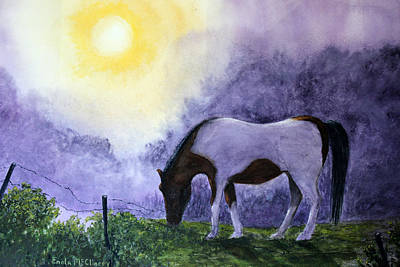 Good Morning Patches Art Print by Enola McClincey