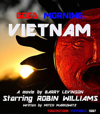 Photograph - Good Morning Vietnam Movie Poster by David Lee Thompson