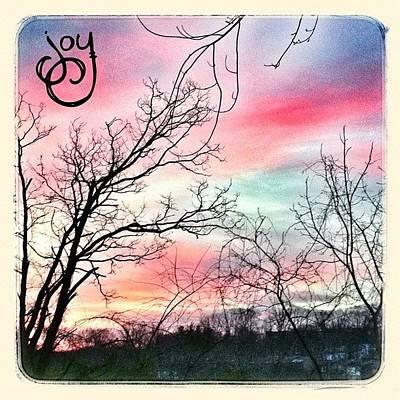 Beauty Wall Art - Photograph - Good Morning! #sky #sunrise #phonto by Teresa Mucha