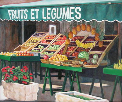 St.tropez Painting - Good Morning St. Tropez by Zig  Smith