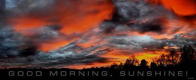 Photograph - Good Morning Sunshine by Craig T Burgwardt