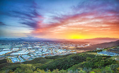 Art Print featuring the photograph Good Morning Temecula by Robert  Aycock