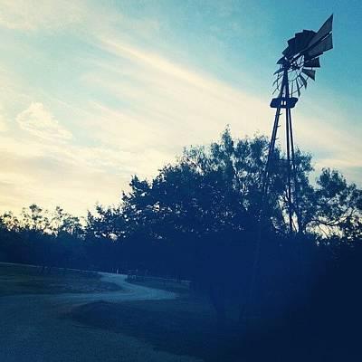 Pathway Wall Art - Photograph - Good Morning Windmill by Blake Kirby