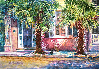Good Neighbors Art Print by Alice Grimsley