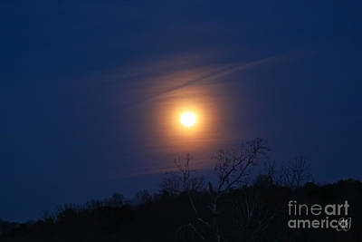 Photograph - Good Night Moon by Geri Glavis