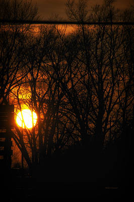 By Tom Woolworth Photograph - Good Night Sunshine by Thomas Woolworth