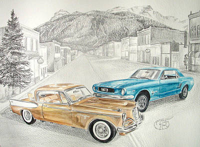Art Print featuring the mixed media Good 'ol Days by Jessica Tookey