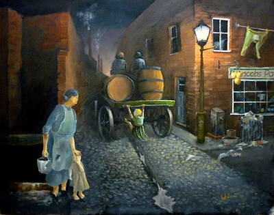Good Old Days Original by Derek Walsom