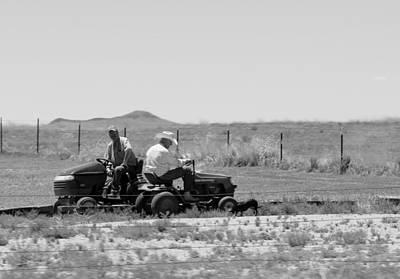 Working Cowboy Photograph - Good Ole Boys Bw by Elizabeth Sullivan