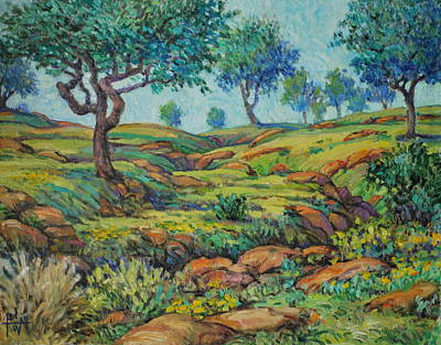 Good Pasture Poor Land For Farming Art Print by Henry Potwin