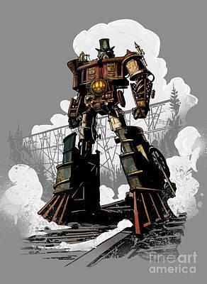 Good Robot Art Print by Brian Kesinger