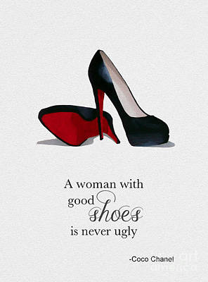 Good Shoes Art Print