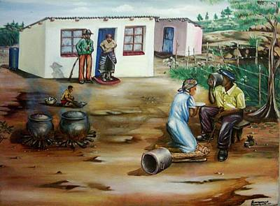 Good To Be At Home Original by Bongumusa  Hlongwa