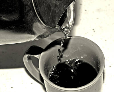 Pour Photograph - Good To The Last Drop by Dan Sproul