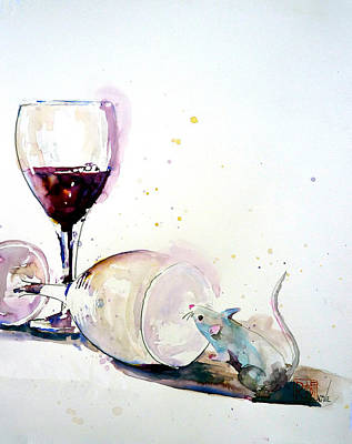 Painting - Good To The Last Drop by Patricia Ragone