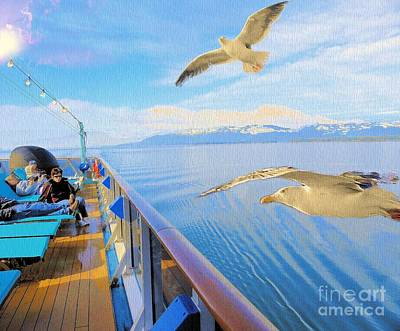 Photograph - Goodbye Alaska by Janette Boyd