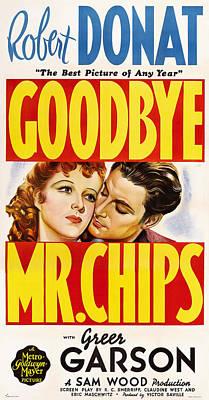 Goodbye, Mr. Chips, L-r Greer Garson Print by Everett