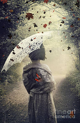 Manipulation Mixed Media - Goodbye Summer by Svetlana Sewell