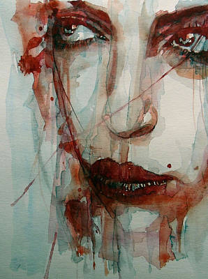 Lips Painting - Goodbye To Love by Paul Lovering