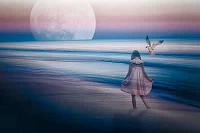 Photograph - Goodnight Moon by Joshua Minso
