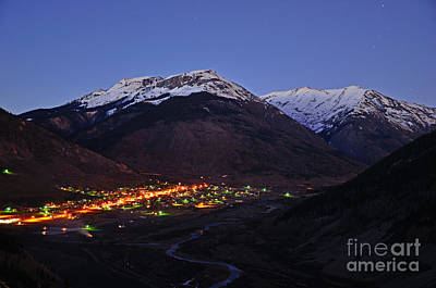 Photograph - Goodnight Silverton by Kelly Black