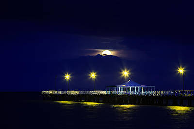 Photograph - Goodnight Sweet Pier by Silken Photography