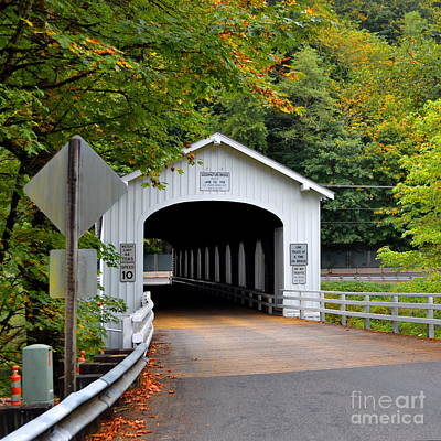 Photograph - Goodpasture Bridge by Ansel Price