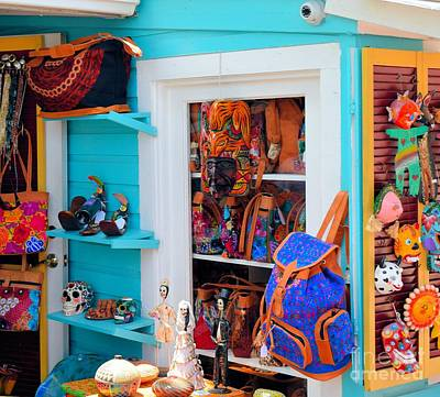 Photograph - Goods For Sale In Key West by Janette Boyd