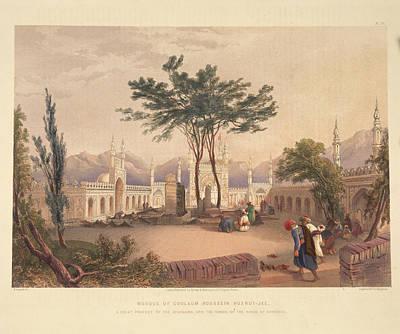 Goolaum Hoosein Huzrut-jee Print by British Library