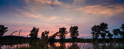 Prairie Sunset Wall Art - Photograph - Goose Lake Prairie Sunset by Steve Gadomski
