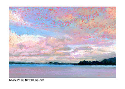 Painting - Goose Pond Nh by Betsy Derrick