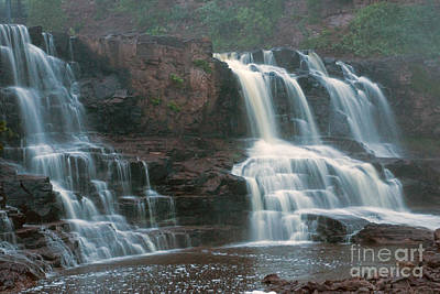 Photograph - Gooseberry Waterfalls by Tina Hailey