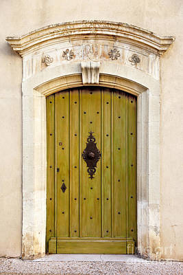 Photograph - Gordes Door by Brian Jannsen