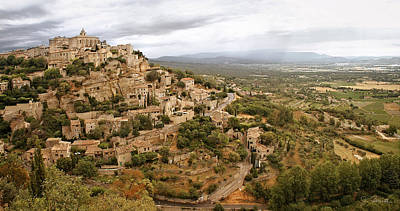 Photograph - Gordes by Joe Bonita