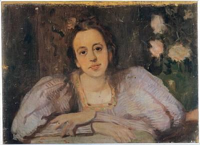 Puffed Sleeves Photograph - Gordigliani Eduardo, Portrait Of Sophia by Everett