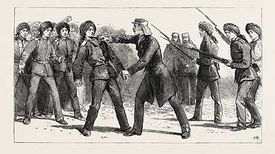 Obey Drawing - Gordon In China May 1863 Mutiny Of Non-commissioned by Chinese School