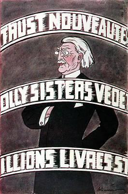 Gordon Selfridge  American-born Art Print