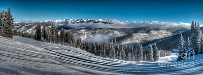 Photograph - Gore Range Panorama by Franz Zarda