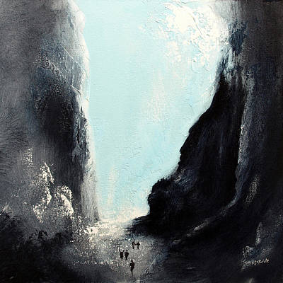 Sea Painting - Gorge by Neil McBride