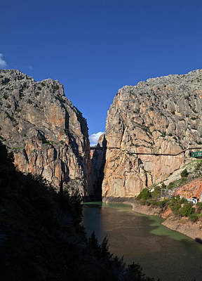 Rey Photograph - Gorge Of The Gaitanes With The Caminito by Panoramic Images