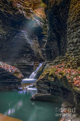 Watkins Glen Photograph - Gorge Serenity by Marco Crupi