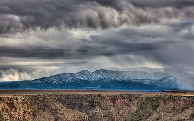 Photograph - Gorge Storm South by Britt Runyon