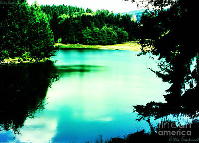 Art Print featuring the photograph Gorge Waterway Victoria British Columbia by Eddie Eastwood